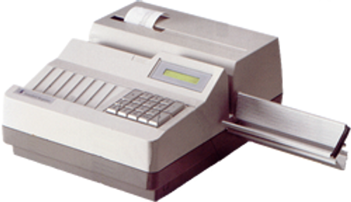 Standard Register TE1916 Check Encoder for Casinos includes Program EPROM
