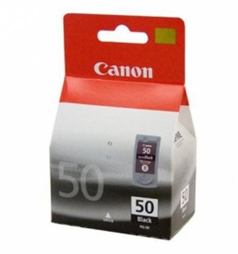 Canon PG50 Black Inkjet Cartridge (PG-50) Certified Non-Generic OEM, 0616B002AA