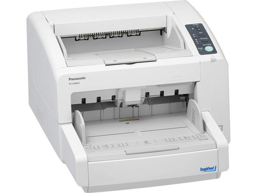 Panasonic KV-S4065CW Scanner, 80ppm/160ipm, Duplex, Bitonal, #092281877068