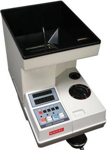 Semacon S-140 Heavy Duty Coin Counter, Coin Packager (Semacon S140)