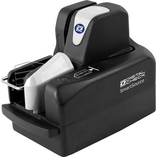 SmartSource Merchant Elite, Single Pocket, 55 dpm, 100 Item Feeder (SSM1-ELITE55-IJ) with 1 Line inkjet endorsement