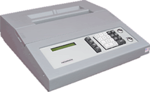 Hedman HE1600 Electronic stand-alone check protector,  signer and disbursement audit machine. (Reconditioned)