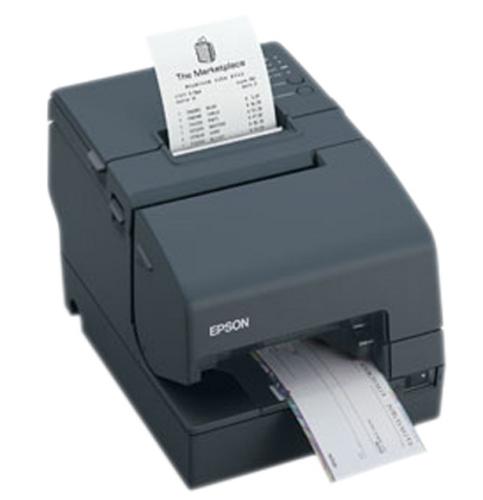Epson TM-U675 Multifunction Printer (USB) #C31C283A8771 SLIP & VALIDATION PRINTER, no Autocutter, no MICR (Dark Grey) TMU-675 (Req. Power Supply)