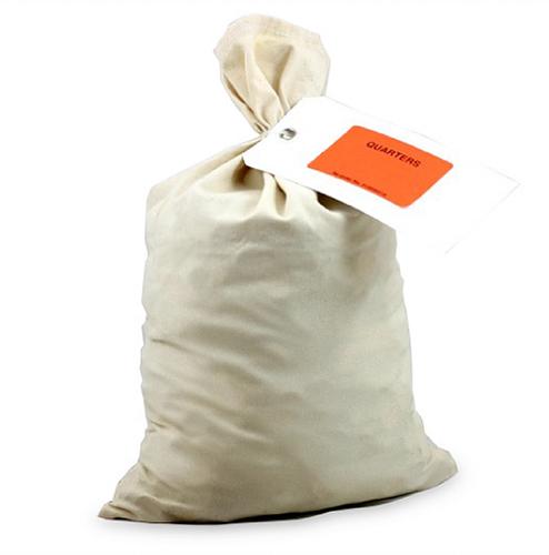 "Canvas Coin Bag (50 Per Order) 12"" x 19"""