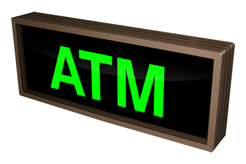 Signal-Tech ATM Sign 25924