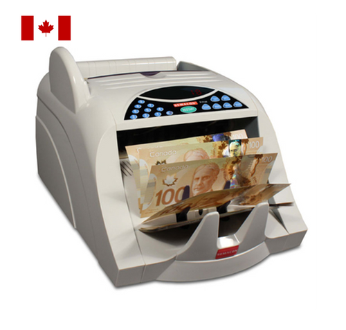 Semacon S-1125-CAD Canadian Polymer Currency Counter (with Ultraviolet and Magnetic Counterfeit Detection)