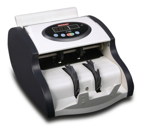 """Semacon S-1015 """"Mini"""" Series Compact Currency Counter with Ultraviolet Counterfeit Detection"""
