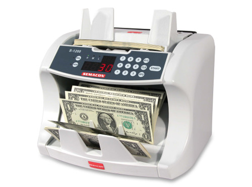 Semacon S-1200 Heavy Duty Currency Counter (No Counterfeit Detection)