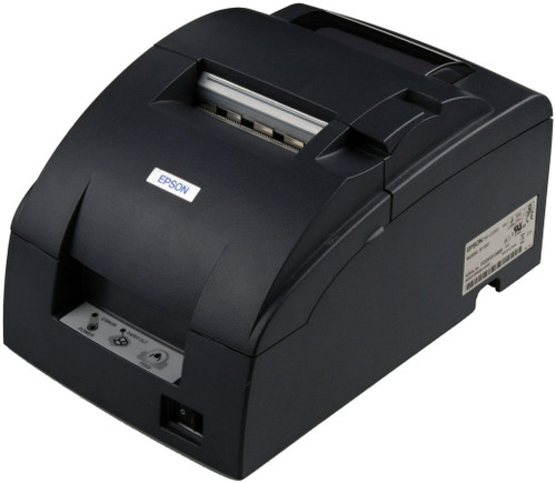 Epson TM-U220B Printer (USB) #C31C514A8731 with power supply. Includes Auto-cutter