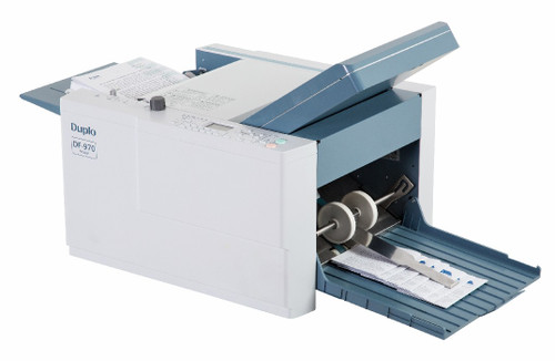 Duplo DF-970 Semi-Automatic Paper Folder, Duplo DF970