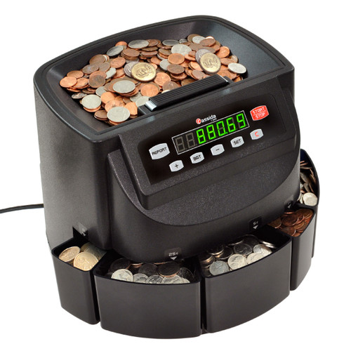 Cassida C200 Coin Sorter and Coin Wrapper (for US Coins ONLY)