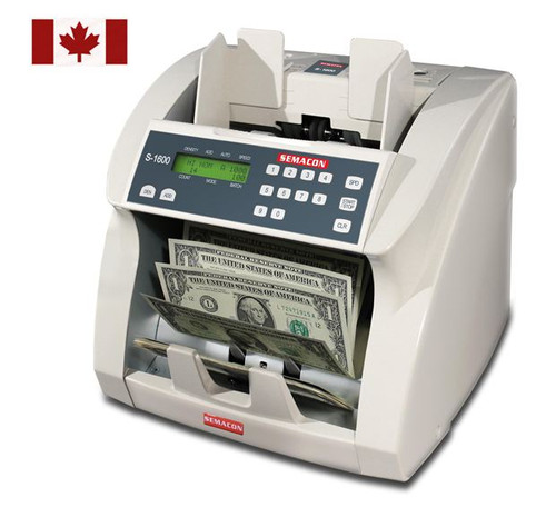 Semacon S-1625V USD and Polymer Notes (UV & MG Counterfeit Detection)