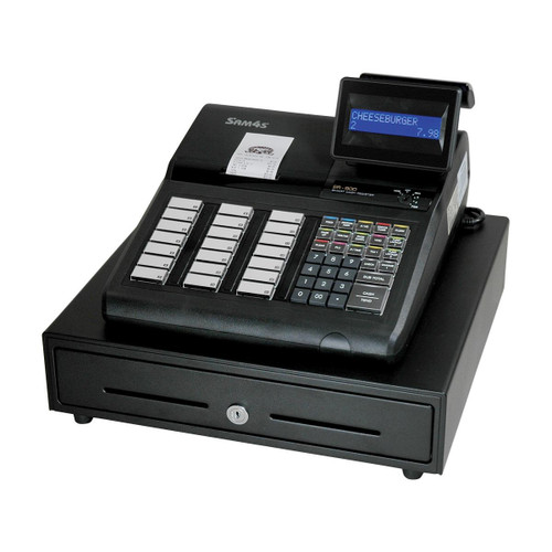 Sam4s ECR ER-925 Cash Register (raised keyboard, with receipt printer)
