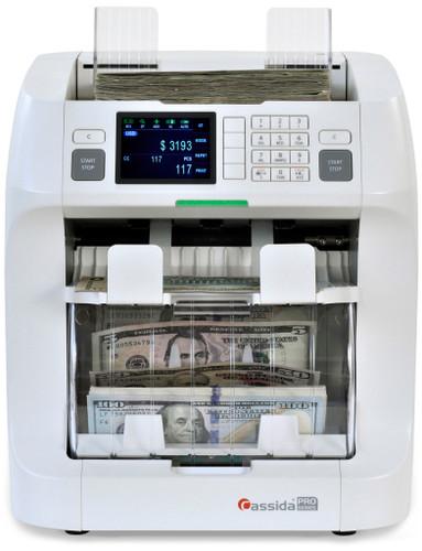 Cassida Zeus Mixed Currency Discriminator (value counting)