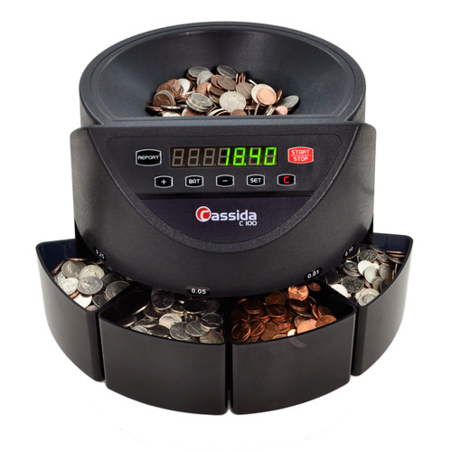 Cassida C100 Coin Sorter and Counter