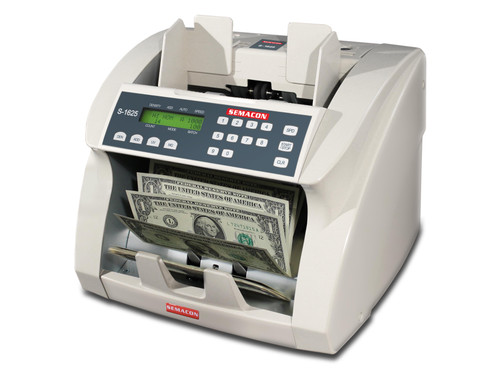 Semacon S-1625V Heavy Duty Currency Counter with Value Mode (Ultraviolet & Magnetic Counterfeit Detection)