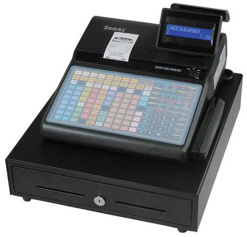 Sam4s ECR ER-920 Cash Register (flat keyboard, with receipt printer)