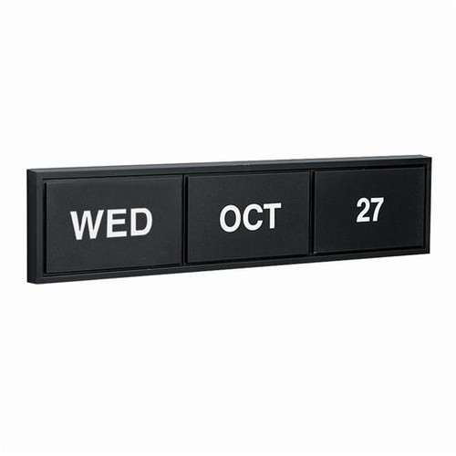 Magnetic Day Month Date Calendars, Countertop Calendar