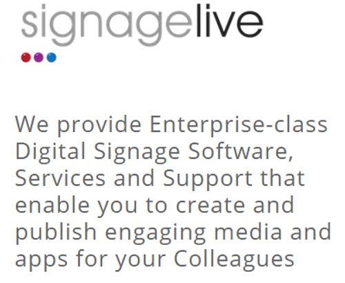 Signagelive  - Web Training