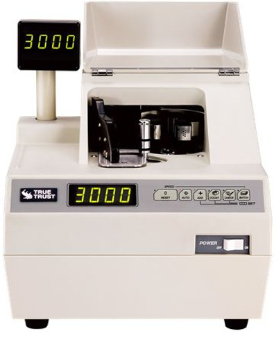 TBM D1 (VS) Casino Grade AIR Vacuum Currency Counter (Counts strapped currency at 3,000 per minute) D1VS