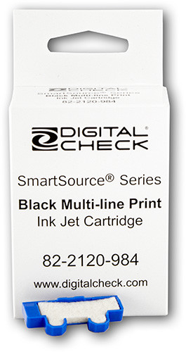 Burroughs Ink Jet Cartridge (Black) Factory Certified/Non-Generic with felt pad 75-0860-915, 750860915 (inkjet)