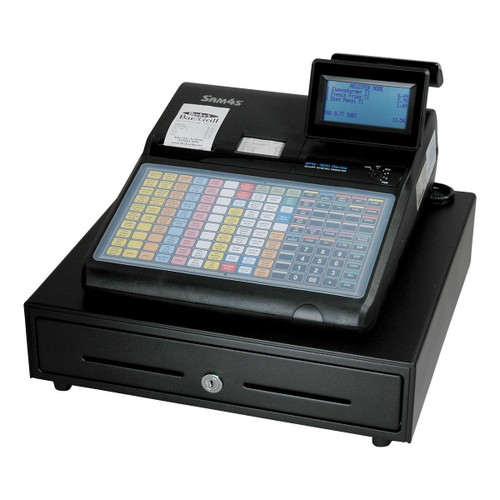 Sam4s ECR SPS-340 (flat keyboard, 8 line display, with receipt printer)