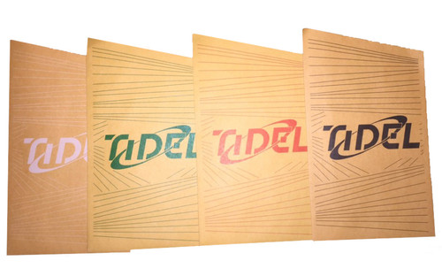Tidel Drop Envelopes, 5 Colors, 100 of each color, Color code your shifts.