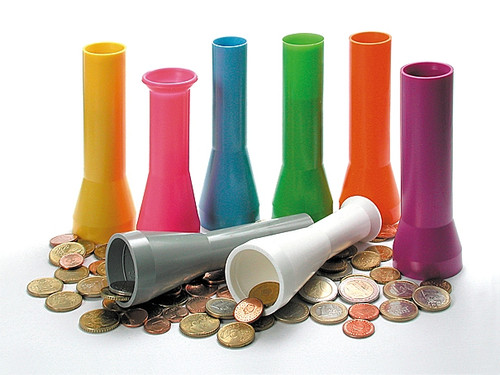 Scan Coin Coin Packager Tubes (0.25 Tube)