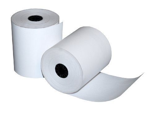 ReceiptNOW Thermal Paper 3 1/8 in x 273 ft Single Ply (50 Rolls per Box) Ships FREE!, 401095994