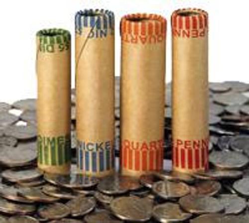1,000 Dimes Pre-crimp Coin Wrappers