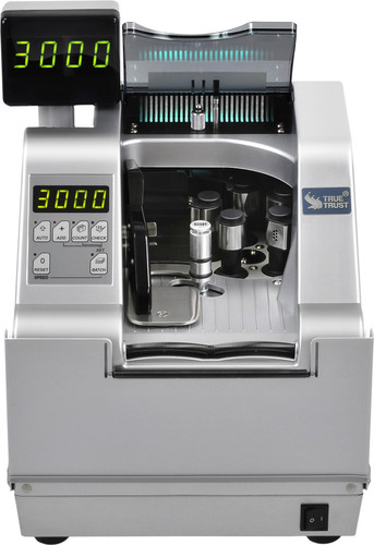 TBM M1 AIR Vacuum Currency Counter (Counts strapped currency at 3,000 per minute) M1AIR
