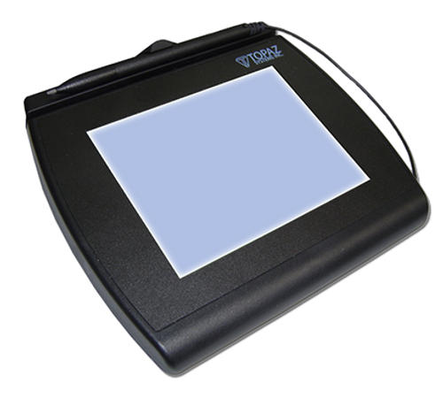 Topaz T-LBK766 Model Series SignatureGem LCD 4x5, T-LBK766SE-BHSB-R (Dual Serial/USB, Backlit (Higher Speed Version))