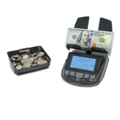 Cassida Till Tally Coin and Currency Counting Scale (TillTally)