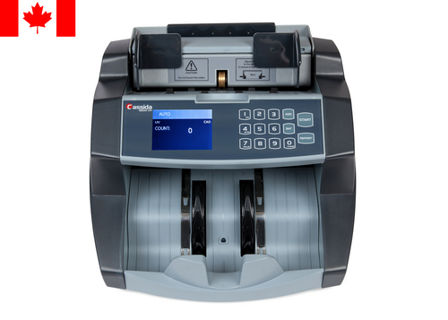 Cassida 6600UV CAD Currency Counter designed for Polymer Notes