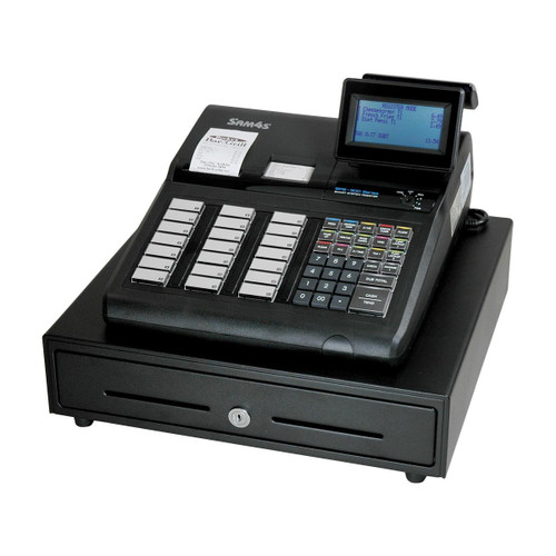 Sam4s ECR SPS-345 (raised keyboard, 8 line display, with receipt printer)