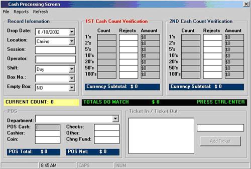 CashPro - Cash Processing System