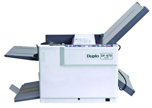 Duplo DF-870 Automatic Paper Folder, Duplo DF870