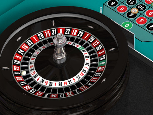 TCS JOHN HUXLEY Double Action™ Roulette Wheel