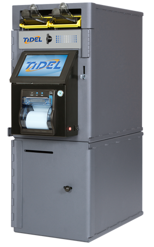 Tidel Series 4 Cash Deposit Safe with Bulk Note Feeder