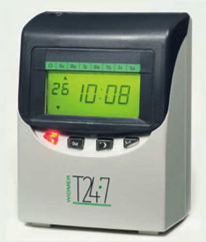 Widmer T24-7 Totalizing Payroll Time Clock