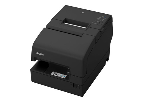 Epson OmniLink TM-H6000V Thermal Receipt Printer Color: Black #C31CG62032 with Power Supply, Serial/USB/Ethernet