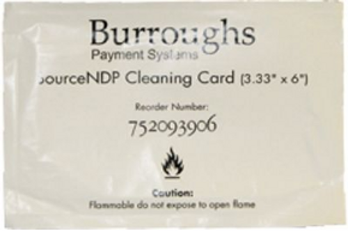 SourceNDP Cleaning Cards- 10/box - PN:752093906