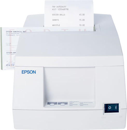 Epson TM-U325 Receipt-Validation Printer USB - C31C213A8941-, NEW#C31C213A8741  Color: Cool White (Includes Power Supply) Epson discontinued, Call for availability