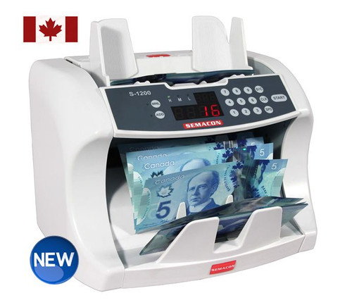 Semacon S-1200 CAD for Canadian Paper and Polymer Notes  (No Counterfeit Detection)