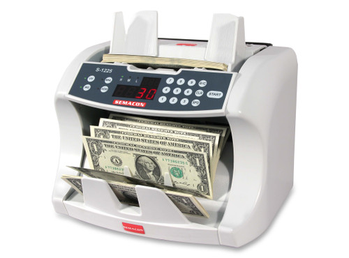Semacon S-1225 Heavy Duty Currency Counter (With UV & Magnetic Counterfeit Detection)