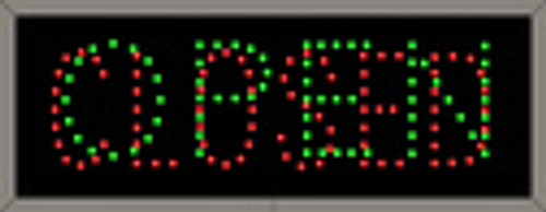 Signal-Tech Open-Closed Sign 5887