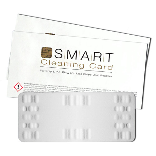 SMART Cleaning Card, for Chip & Pin, EMV and Stripe Card Readers #BZS-EMV