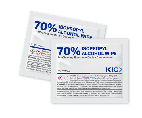 Disinfecting and Sanitizer Wipes Saturated with 70% IPA Germ Cleaning Solution (50 Individually wrapped)