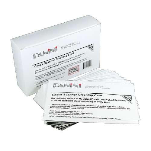 Panini Check Scanner Cleaning Cards #SE-00145-15