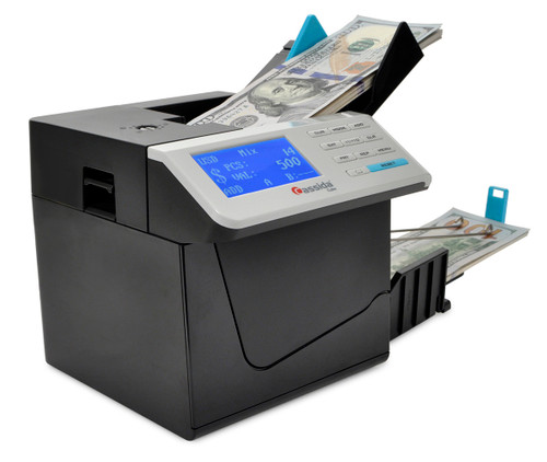 Cassida Cube Mixed Currency Discriminator (value counting) Includes 3 year warranty!